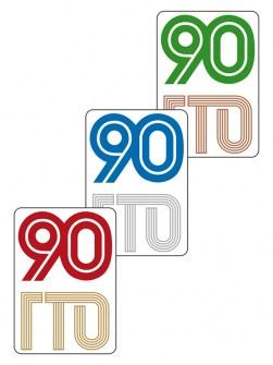 NKG6-90ГТО - Наклейки Image 0
